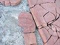 Петрыкаў. Мікалаеўская царква. Разбіты камень (06).jpg