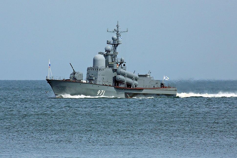 РКА Р-298 в Амурском Заливе 2011.07.31