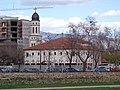 """Скопје, Р. Македонија , Skopje, R. of Macedonia 01.04.2013 ( ☨Црква """"Рождество на Пресвета Богородица"""" , Church """"Nativity of the Virgin Mary"""" ☨) - panoramio (2).jpg"""