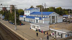 Danilov, Yaroslavl Oblast - Danilov railway station in Danilov