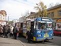 Сумський тролейбус № 7 на вулиці Кооперативній.jpg
