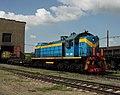 ТЭМ2-5881, Казахстан, Карагандинская область, депо тяжелой техники КПТУ (Trainpix 33058).jpg