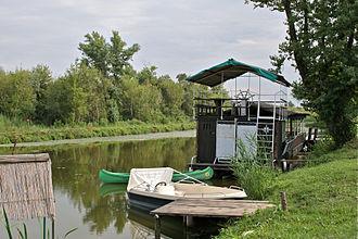 Carska Bara - Flat-bottomed boats on the Old Begej