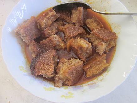 Marka sfaxienne avec du pain complet base d orge for Cuisine tunisienne