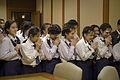 คณะนักเรียนโรงเรียนเซนต์ฟรังซีสซาเวียร์คอนแวนต์เข้าเยี - Flickr - Abhisit Vejjajiva (3).jpg