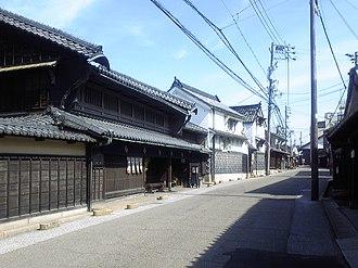 Narumi-juku - Present-day Narumi-juku