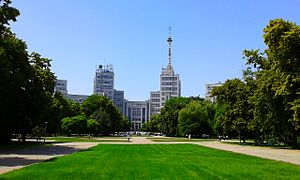 (42) DERZHPROM BUILDING IN CITY OF KHARKIV STATE OF UKRAINE PHOTOGRAPH BY VIKTOR O LEDENYOV 20160621