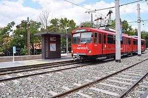 (Parador Mendoza) Siemens–Duewag U2 ingresando a estacion (6)