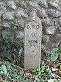 -2020-06-08 GPO marker post, Whitegates road Southrepps.JPG