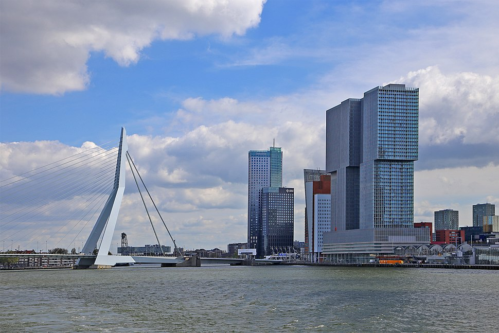 01 Rotterdam - Erasmusbrücke
