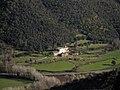 023 Ca n'Horta (St Feliu de Buixalleu) des del castell de Montsoriu.jpg