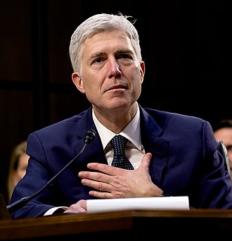 Neil Gorsuch Supreme Court nomination - Judge Gorsuch testifying before the Senate Judiciary Committee on March 22, 2017