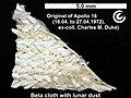 03 Apollo 16 lunar surface flown strap - lunar dust coated.jpg