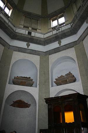 San Nazaro in Brolo - Image: 0485 Milano San Nazaro Cappella Trivulzio Foto Giovanni Dall'Orto 5 May 2007