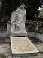 065 Tomba de Nicolau Juncosa, escultura d'Antoni Pujol.jpg