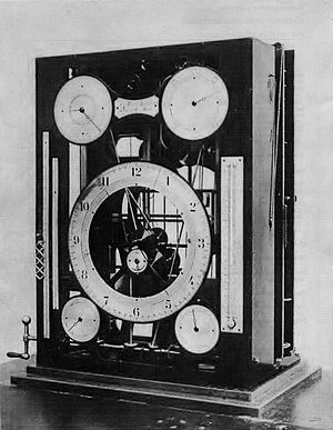 Tide-predicting machine - William Ferrel's tide-predicting machine of 1881-2, now at the Smithsonian National Museum of American History
