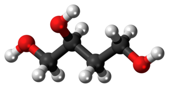 1,2,4-Butanetriol - Image: 1,2,4 Butanetriol 3D balls
