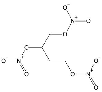 1,2,4-Butanetriol trinitrate - Image: 1,2,4 Butanetriol trinitrate