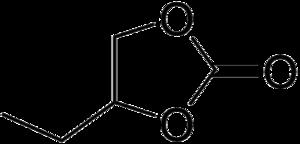 1,2-Butylene carbonate - Image: 1,2 Butylene carbonate