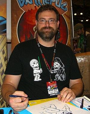 Mike Norton - Norton at the 2011 New York Comic Con