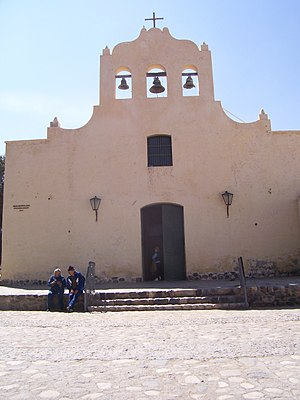 Cachi, Argentina - Catholic church