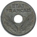 10 centimes état français avers.png