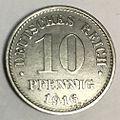 10 pfennig 1916 G reverse iron.jpg