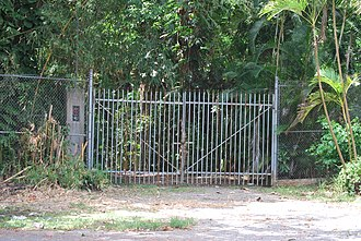 Henry Klumb House - Gate at the entrance of Casa Klumb