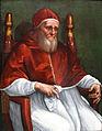 1511 Rafael Portrait Papst Julius II. anagoria.JPG