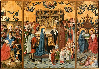 Altarpiece of the seven joys of the Virgin