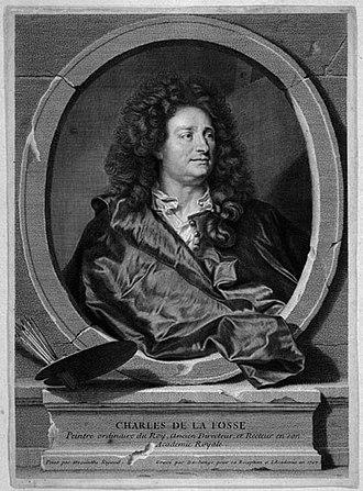 Charles de La Fosse - Image: 1691 Charles de La Fosse (gr. Duchange)