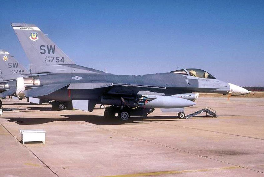 17th Fighter Squadron - General Dynamics F-16C Block 42J Fighting Falcon 90-754