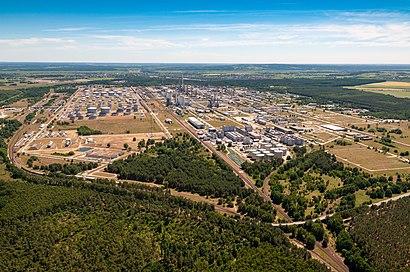 PCK Raffinerie GmbH nerede, toplu taşıma ile nasıl gidilir - Yer hakkında bilgi