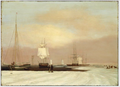 1835 BostonHarbor byJohnBlunt MFABoston.png