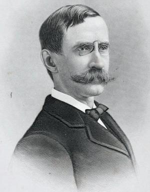 Samuel Greene Wheeler Benjamin - Portrait of S.G.W. Benjamin, 1887