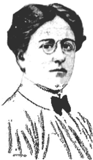 Josephine Wright Chapman - Portrait of Josephine Wright Chapman, ca. 1901