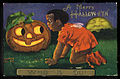 1909 Halloween card with African American girl.jpg