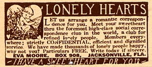 How to write a lonely hearts column tips