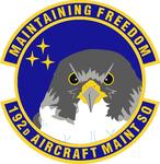 192 Aircraft Maintenance Sq emblem.png