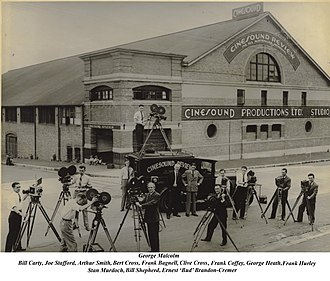 Event Cinemas - Image: 1930 Cinesound studios and Crew