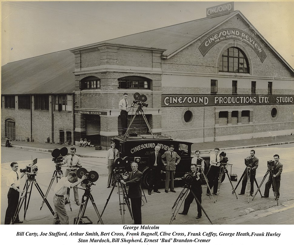 1930 Cinesound studios and Crew