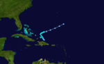 1933 Atlantic tropical storm 16 track.png