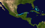 1935 Atlantic tropical storm 4 track.png