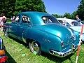 1952 Pontiac Fleetleader four-door sedan, rear left.jpg