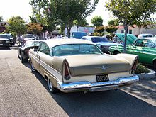 1957 Plymouth Belvedere rear.jpg