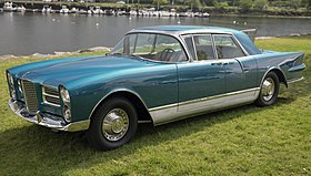 1961 Facel Vega Excellence EX1, front left (Greenwich 2019).jpg