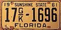 1961 Florida License Plate.JPG