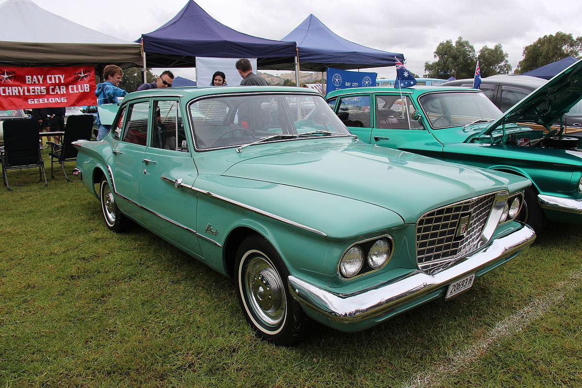 Dodge B Series >> Chrysler Valiant (RV1) - Wikipedia