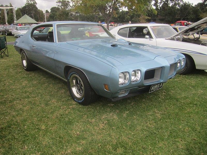 File:1970 Pontiac GTO Hardtop.jpg