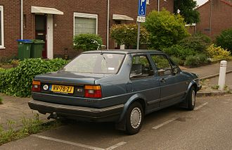 Volkswagen Jetta - Volkswagen Jetta 2 door saloon (European specification)